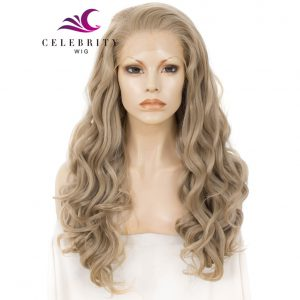 Blonde Synthetic Lace Front Wig