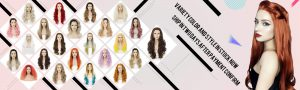 synthetic lace front wig banner